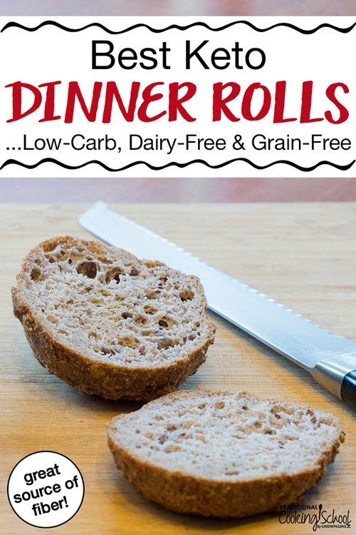 One sliced dinner roll