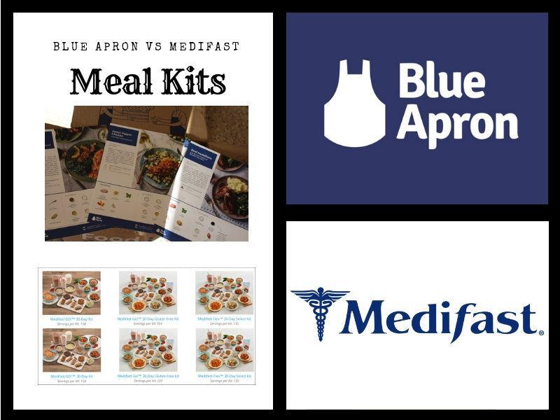 Blue Apron Vs Medifast: Comfort Meals