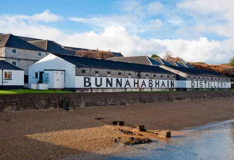 Bunnahabain distillery on Islay, Scotland