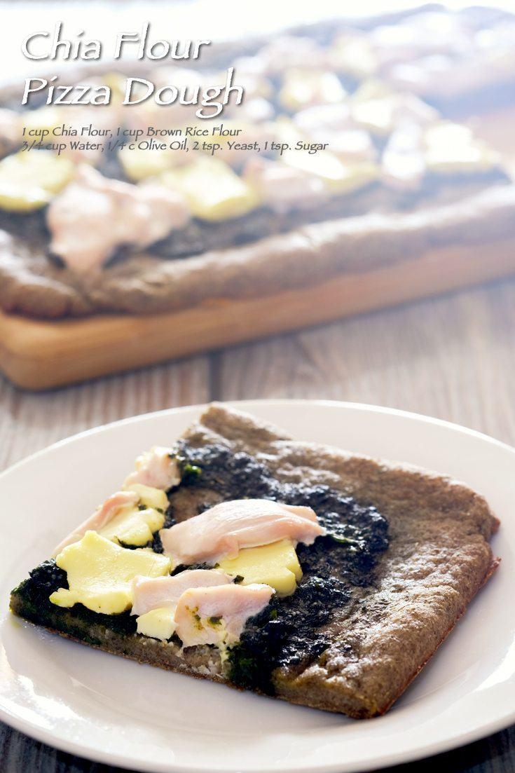Chia Flour Pizza Dough Full Recipe on FoodForNet.com