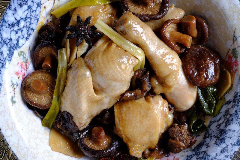 quick crock pot slow cooker chicken mushrooms