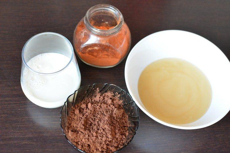 Chili chocolate ice cream ingredients