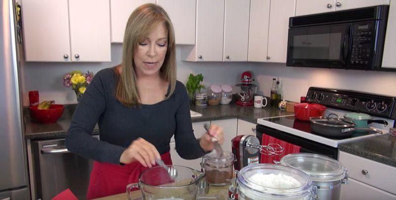 Chocolate Mint Cupcakes 2 (salt, sugar)