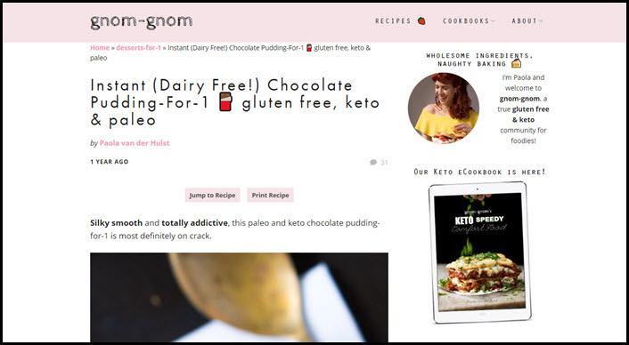 Website screenshot from gnom-gnom