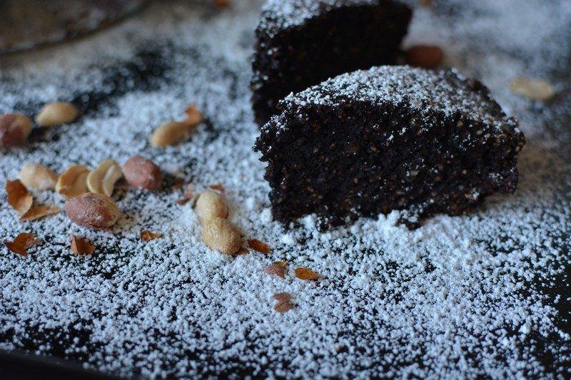 Chocolate and peanut tart final 1