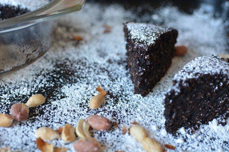 Chocolate and peanut tart final 2