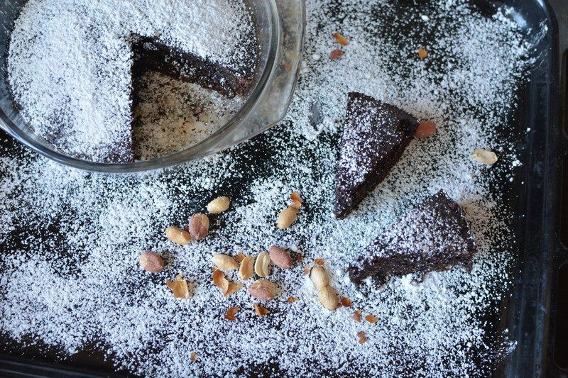 Chocolate and peanut tart final 3