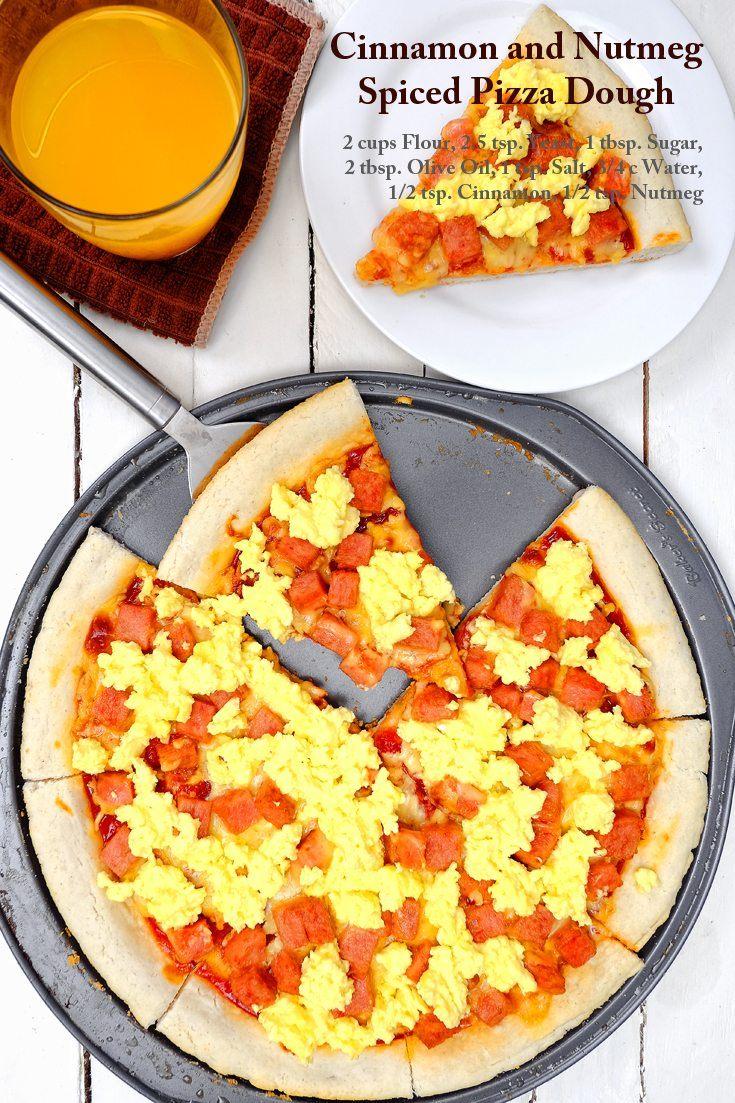 Cinnamon and Nutmeg Spiced Pizza Dough Full Recipe on FoodForNet.com