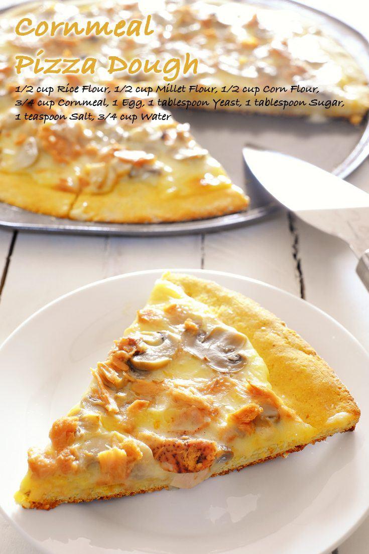 Cornmeal Pizza Dough Full Recipe on FoodForNet.com