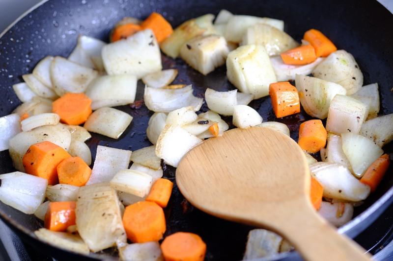 Roast flavoring vegetables