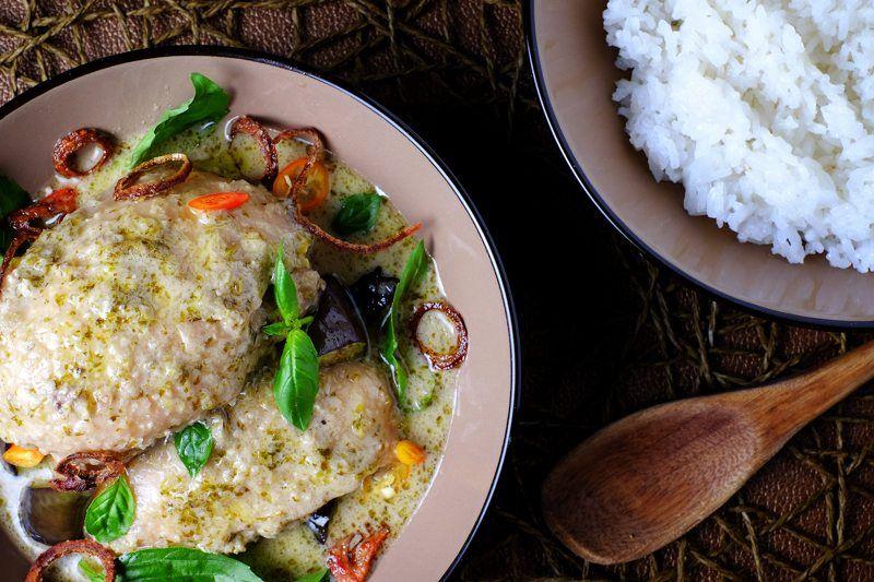 Slow Cooker Thai Green Curry Chicken Final 3