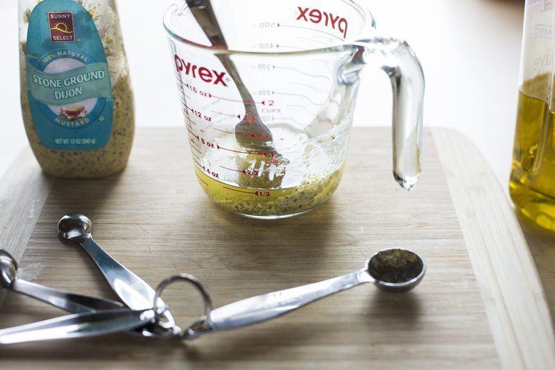 Dijon Olive Oil Dressing Ingredients