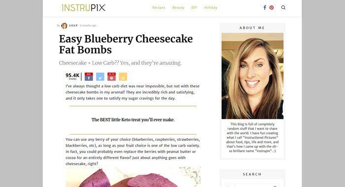 Website screenshot from Instrupix