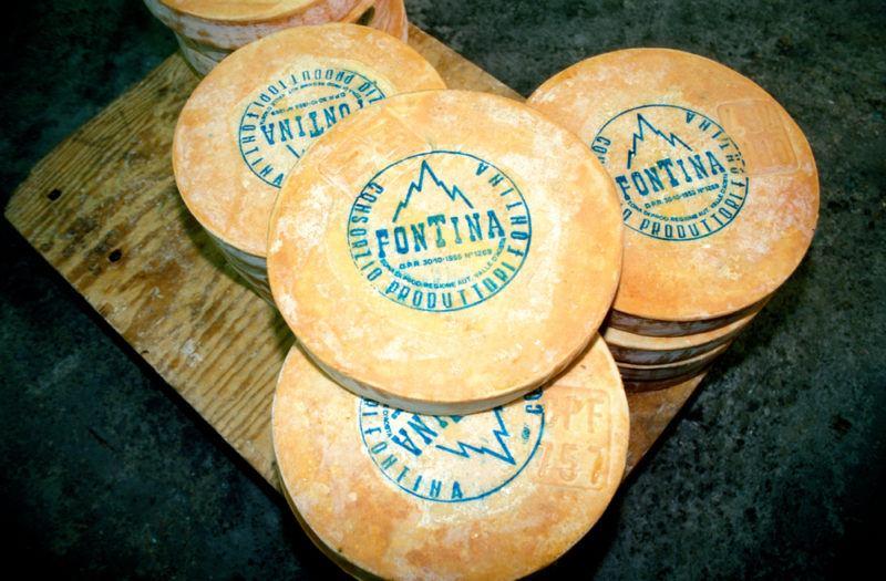 Fontina Cheese Wheels