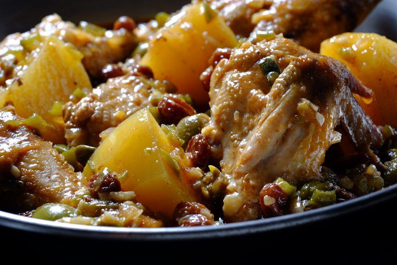Slow Cooker Fricasse de Pollo Detailed photo