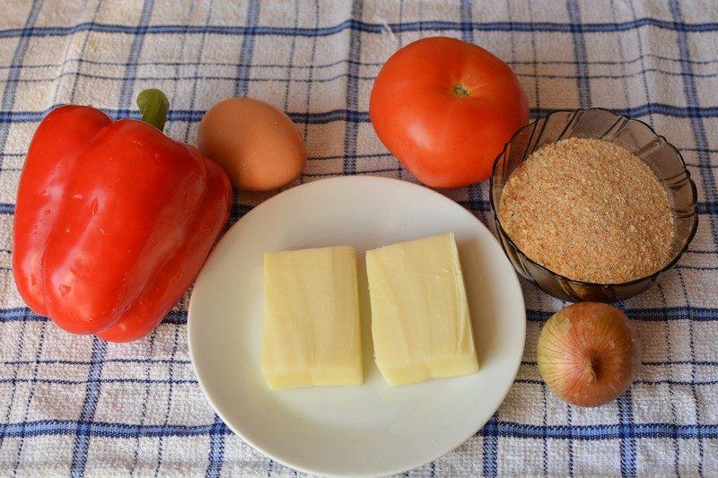 Fried cheese ingredients