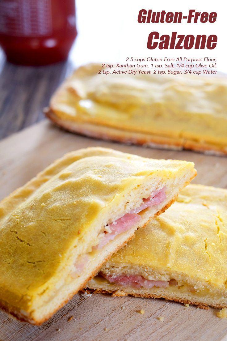 Gluten-Free Calzone Full Recipe on FoodForNet.com