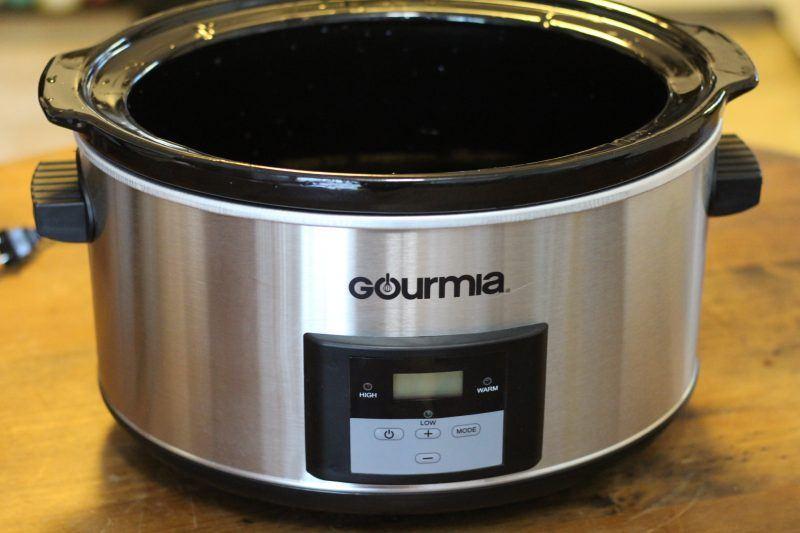 gourmia-slow-cooker-front