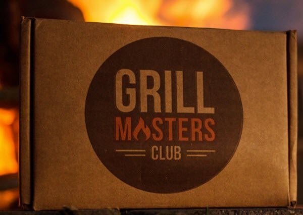A brown box with Grill Masters Club written on it