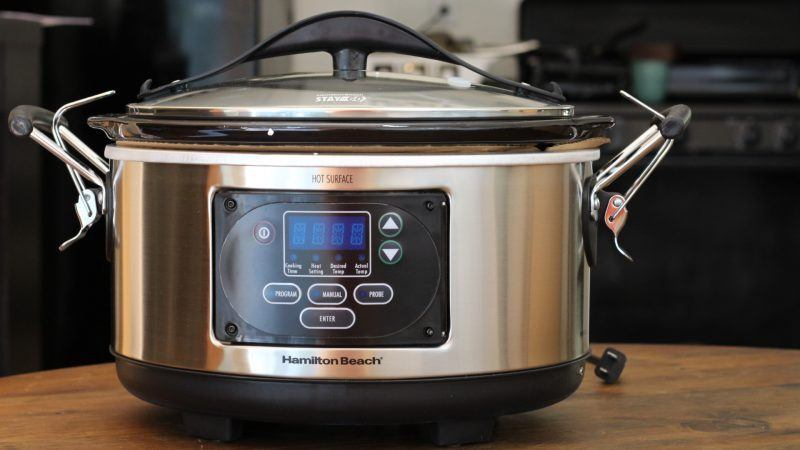 33967A Set 'n Forget Programmable Slow Cooker