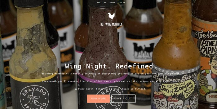A wide selection of different hot sauce bottles with white text