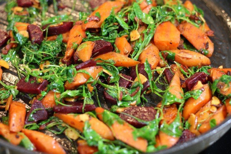 arrugula carrot beat