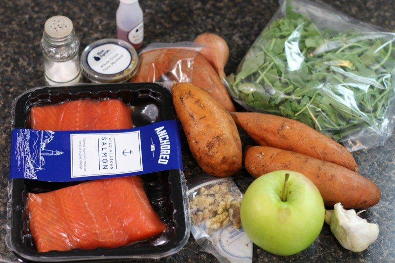 bbq spiced salmon blue apron ingredients