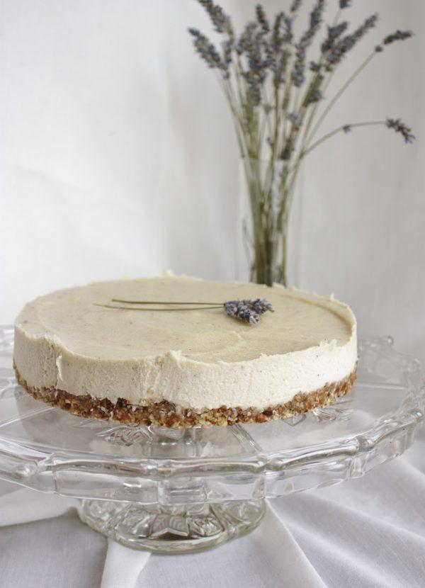 Lavender and Lemon Cheesecake