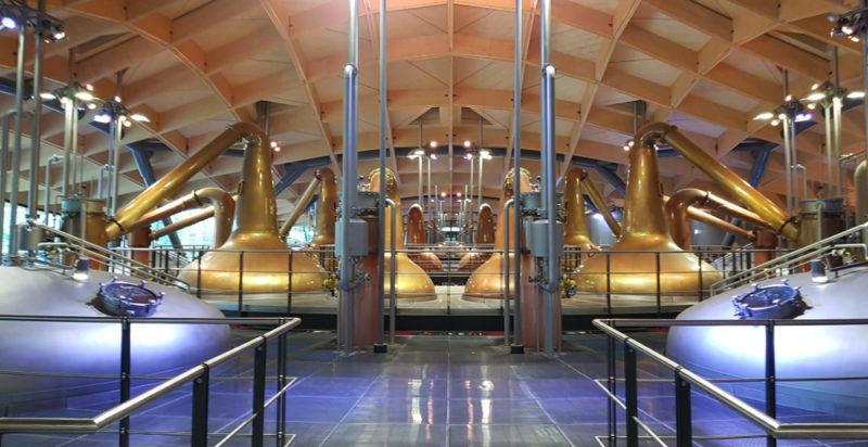 Inside the Macallan Distillery