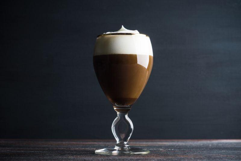 A Kentucky coffee in a glass