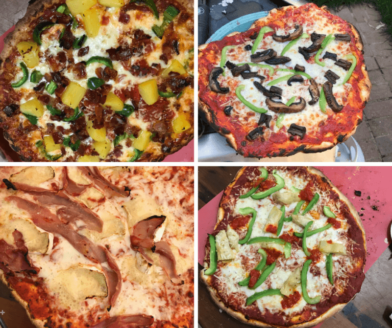 Artisan Pizza Toppings Outdoor Pizza Oven