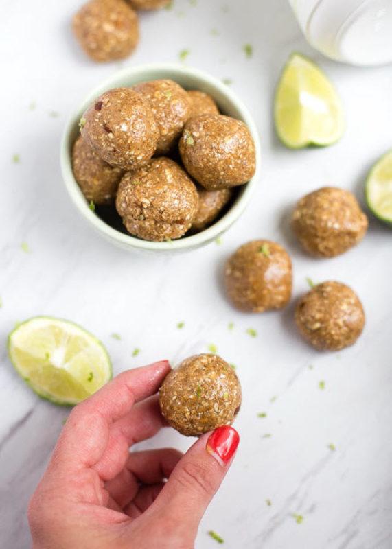 Lime bite balls