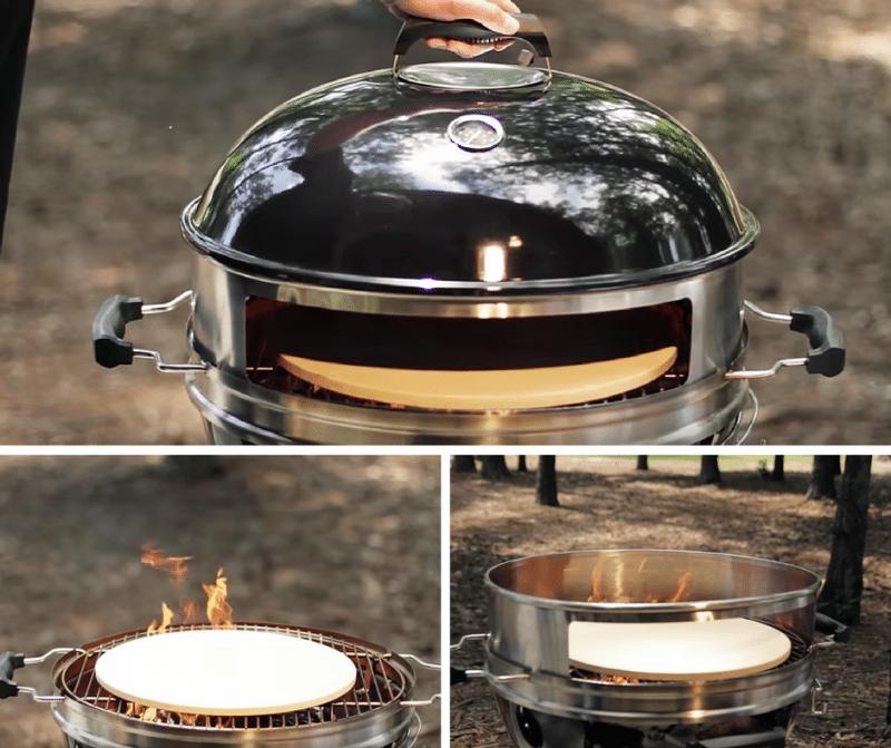 LandMann Pizza Kettle Charcoal Grill