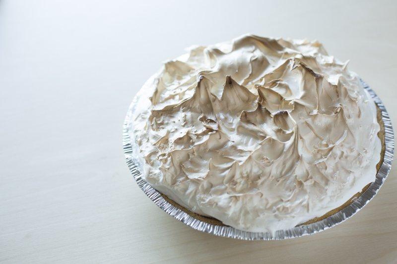 Lemon Meringue Pie Toasted Prep Finished