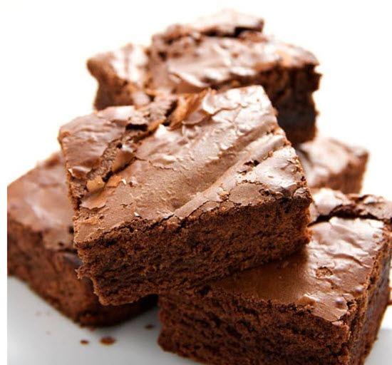 Various milk chocolate brownies