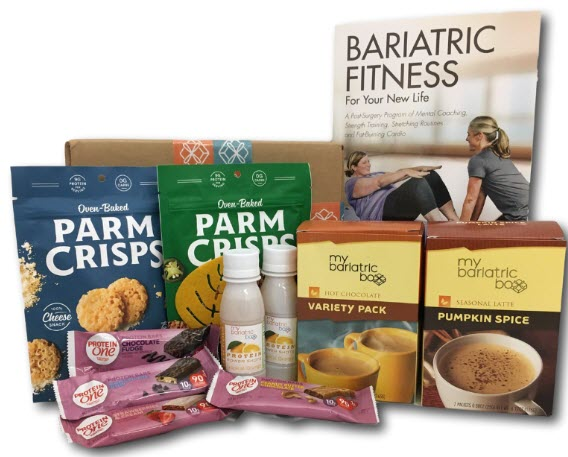 Various processed snacks for bariatric patients