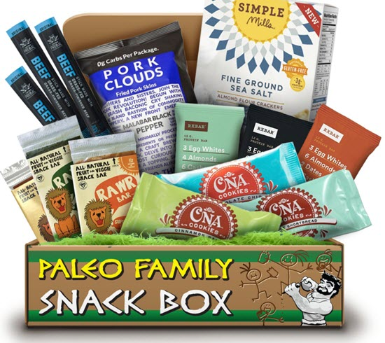 A snack box with a variety of different snacks