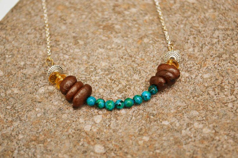Petra Coffee Necklace