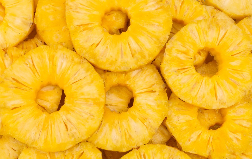 A selection of pineapple rings