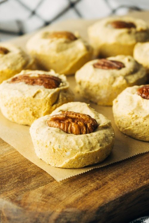Fat bombs with pecans