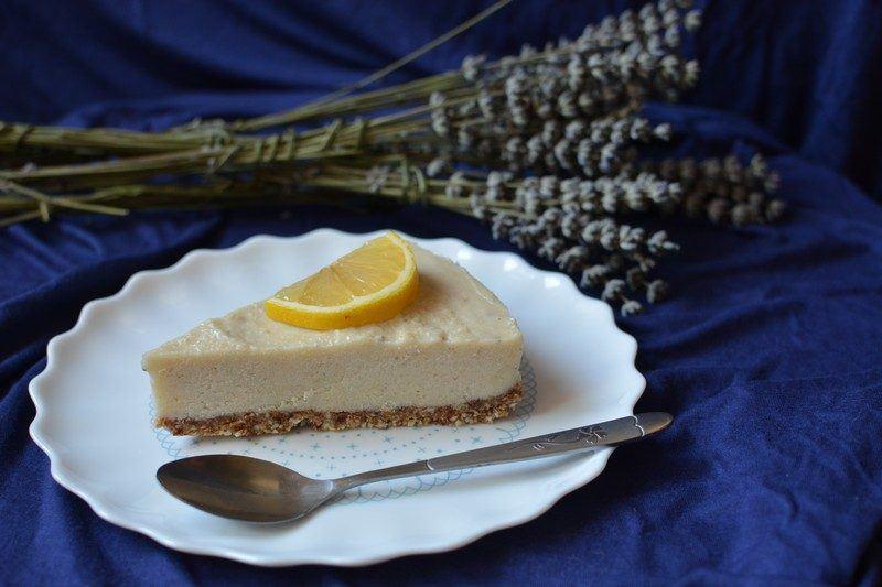 Raw Vegan Lavender, Cardamom and Honey Cake