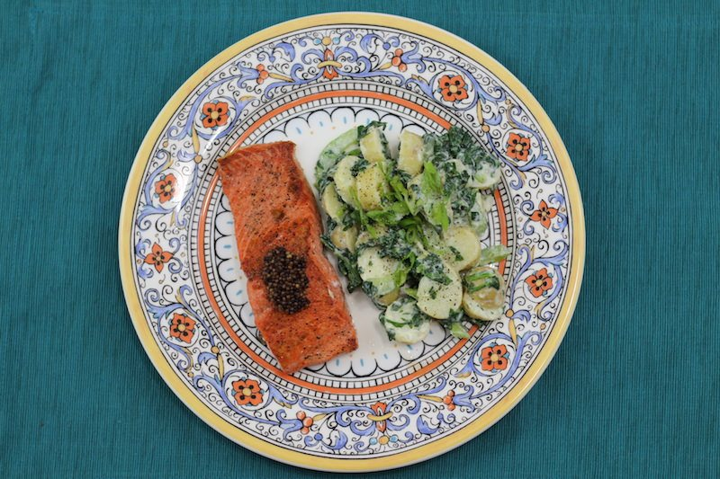 Seared Salmon Green Potato Salad final 4