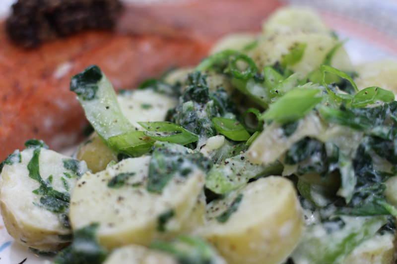 Seared Salmon Green Potato Salad final 5