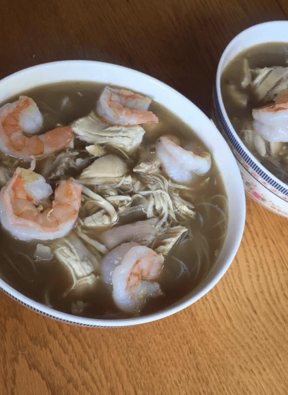 Shrimp Chicken Pho