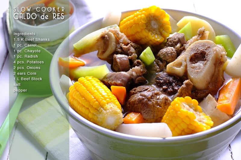 Slow Cooker Caldo de Res (Mexican Beef Soup) FULL RECIPE