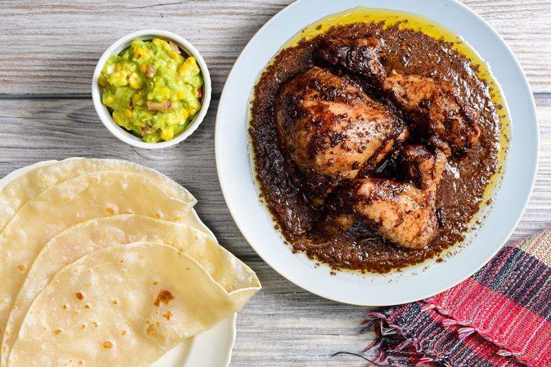 Slow Cooker Chicken Mole