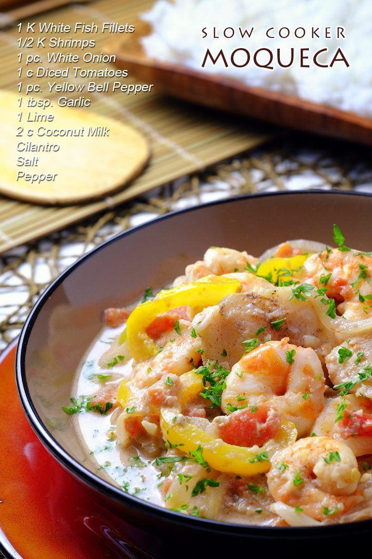 Slow Cooker Moqueca Full Recipe On FoodForNet.com