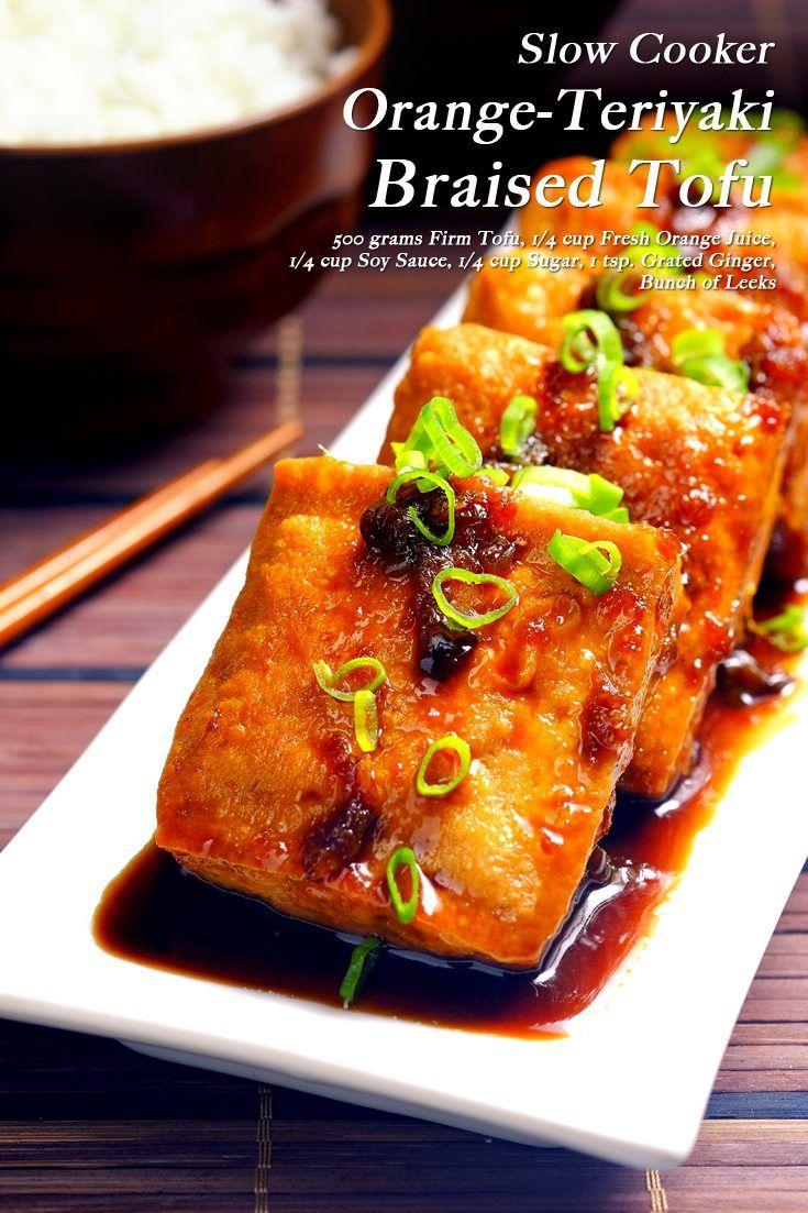 Slow Cooker Orange-Teriyaki Tofu Full Recipe on FoodForNet.com