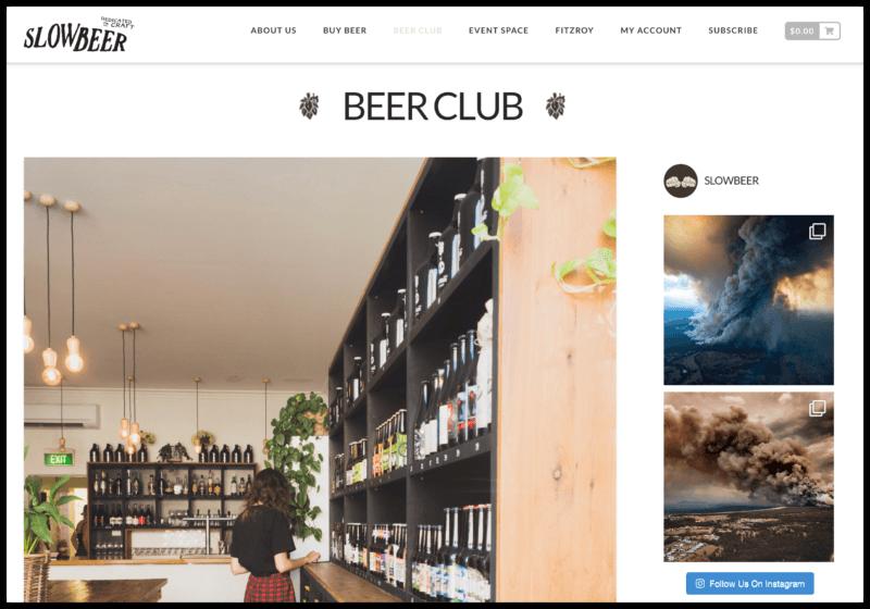Slowbeer's Craft Beer Subscription