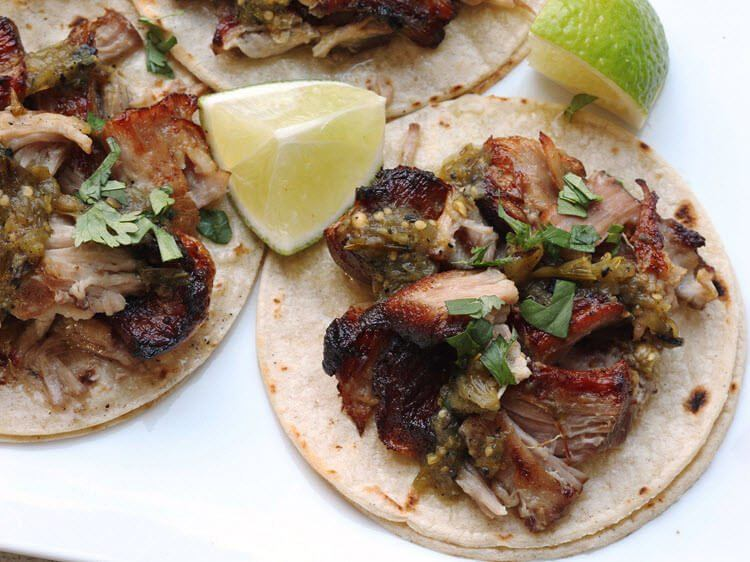 Sous Vide Carnitas for Tacos